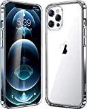 Special case designed for iPhone 12 Pro Max released in 2020. Made of tpu bumper , hard pc back , protecting from accident drops, scratches. Easy access to all the controls and features, perfect cutouts for speakers, camera and other ports. Transpare...