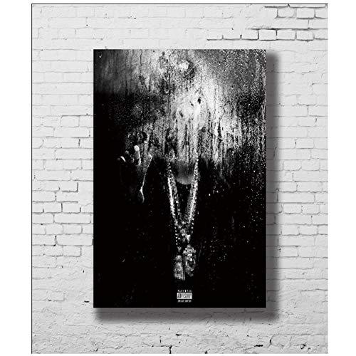 Dubdubdplakate Und Drucke Big Sean Dark Sky Paradise Lw-Leinwand Kunstplakat Leinwandmalerei Wohnkultur -20X28 In No Frame