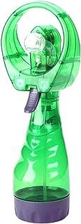 Porfeet Ventilador De Enfriamiento De Mano, Mini Ventilador De Verano De Mano Ventilador De Prensa Manual Nebulizador Enfriador De Humidificador De Aire