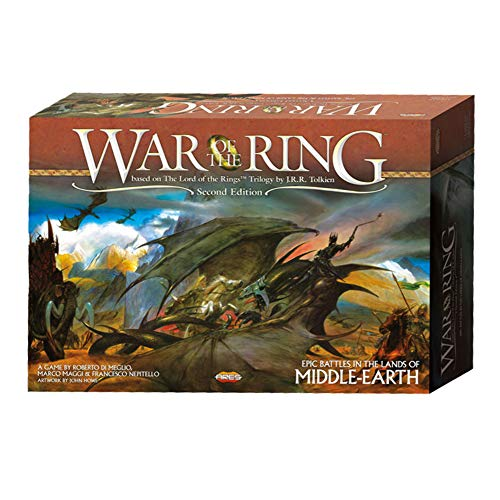 Ares Games War of The Ring 2nd Edition, Multi-Colored (AGS WOTR001)