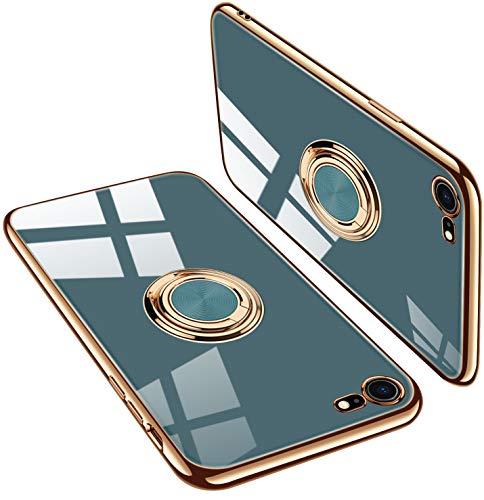 iPhone6 ケース iPhone6s ケース リング付き tpu スマホケース アイフォン 6 ケース/アイフォン 6s ケース 薄型 軽量 傷つけ防止(iPhone6 ケース iPhone6s ケース ライトピンク)
