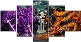 HUA JIE Dekoration Gemälde NAR-Uto Poster Naruto Gegen
