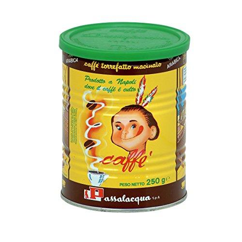PASSALACQUA Mekico, gemahlener Kaffee in der Dose, 250 g