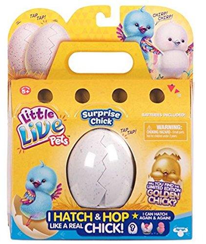 Boti 34447 - Little Live Pets Überrachungsküken im Ei, farbig sortiert