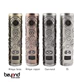 【BeyondVapeJapan】 最新 電子タバコ VAPE MOD【Teslacigs】Punk 86w Antique Copper