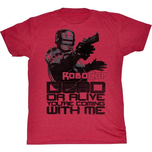 Robocop Shirt Dead or Alive Adults Tee, Officially Licensed, S to XXL