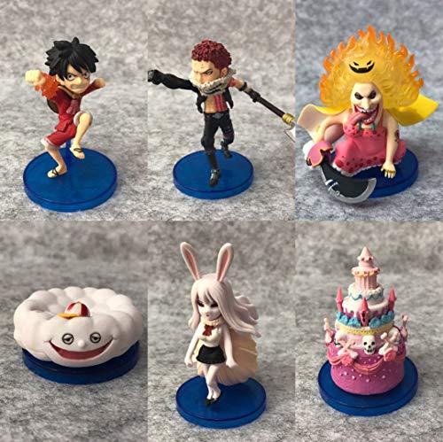 Romantic-Z Anime One Piece Whole Cake Island Luffy Charlotte Katakuri