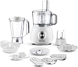 Grouhy Food Processor 1000W, 40 Function, Malaysian White GFP1040W