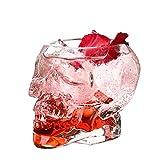 DHJZS Los Huesos de la Armadura del Guerrero del cráneo Diseñado Taza del Vino de Cristal Taza gótica for el hogar Utensilios for Bar Vaso de Whisky Vino Taza de Agua Potable cráneo
