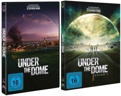 Under the Dome - Season/Staffel 1+2 im Set - Deutsche Originalware [ 8 DVDs]