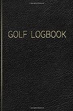 golf stat tracker book