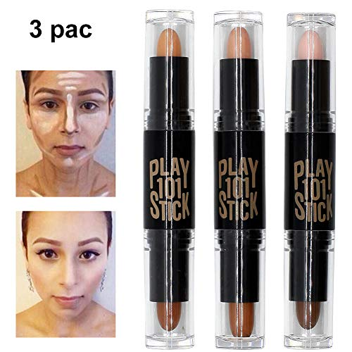Contour Stick, Concealer Contour, Highlighters Stick, Face Highlighters, 6 Colour Make up...