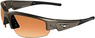 Maxx Sunglasses Rough Rider Grey #1 HD Amber Lenses Sunglasses