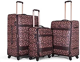Sonada Luggage Trolley Bags Set,3 pcs,976582-BROWN