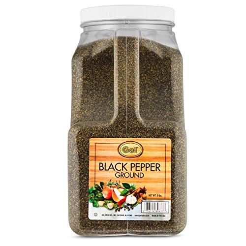 Gel Spice Ground Black Pepper 5 lb