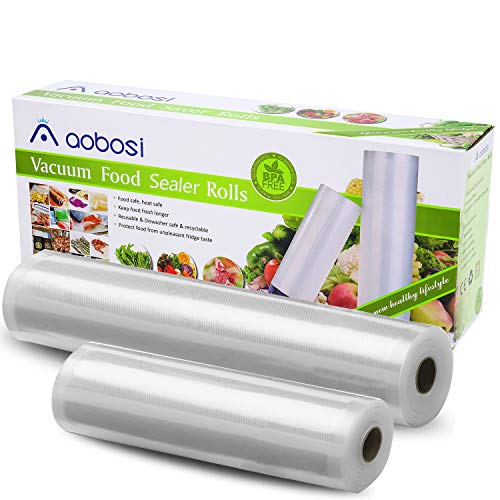 No tóxico 4 Tamaños Food Saver Bolsas de Vacío Sellador de rollos en relieve paquete durable