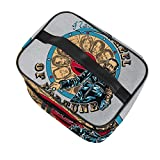 Negans Wheel of Fortune Bella bolsa de viaje multifuncional cosmética bolsa de...
