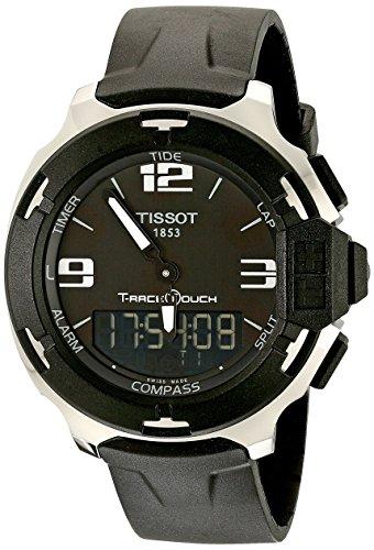 Tissot T081.420.17.057.01 - Reloj de Pulsera Hombre, Caucho, Color Negro