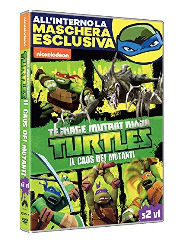 T.M.N.Turtles: Il Caos Dei Mutanti (Dvd + Maschera) (Carnevale Collection)