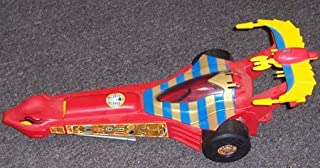 Kenner Mummies Alive - Hot Ra - Car which turns into Dragster (NO figures included) - Made by in 1997