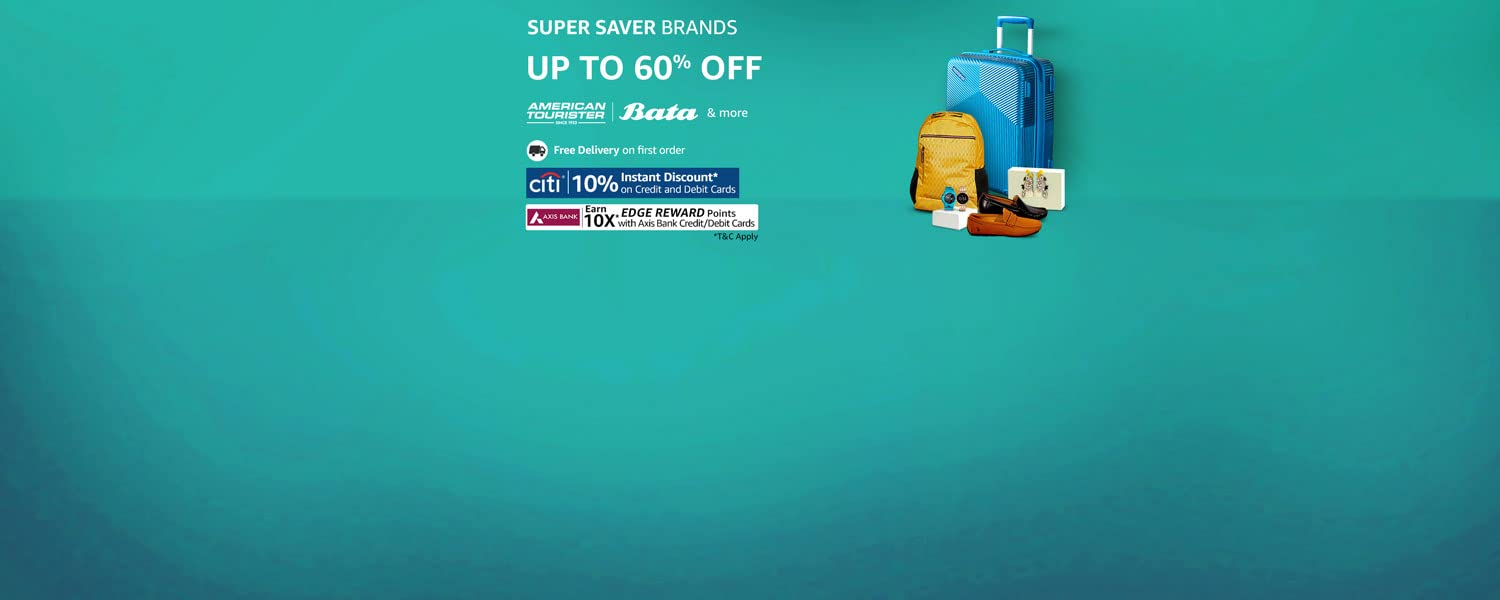 Amazon Offers Today-Coupons-Promo Codes - Get Upto 60% Discount on Luggage and bags