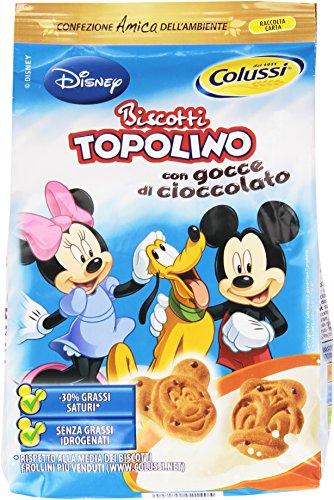 Colussi - Biscotti Topolino, Con Gocce Di Cioccolato