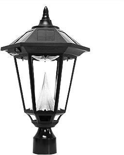 Gama Sonic GS-99F-L Windsor Lamp Outdoor Solar Light Fixture, 3