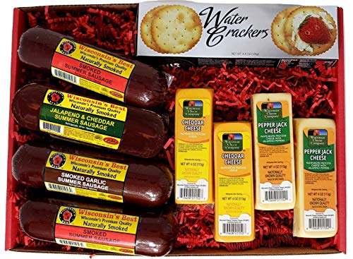 Cheese & Sausage Gift Basket