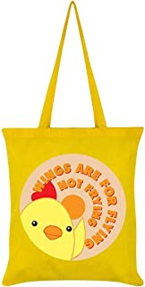 Grindstore Wings Are For Flying Not Frying Tote Bag