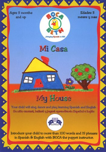 Mi Casa / My House: Young Children Learn Spanish [Reino Unido] [DVD]