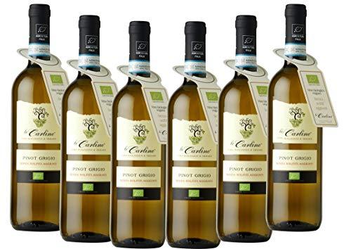 Pinot Grigio DOC ohne sulfite Le Carline biologischer und veganer Wein