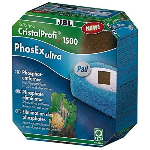 JBL 60176 Set mit Nitrit, Nitrat und Phosphatentferner für CP e 1500/1501 ClearMec plus Pad