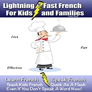 Lightning-Fast French for Kids and Families cover art