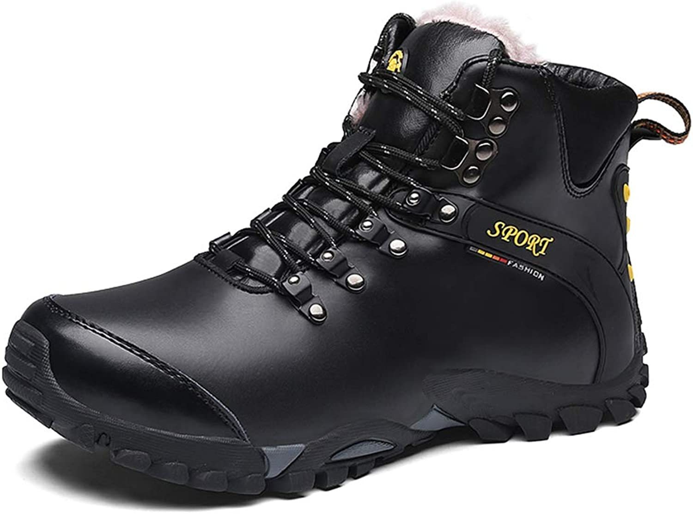 Giles Jones Men's Hiking Boots High Top Shock Absorption Comfort Mountain Climbing shoes