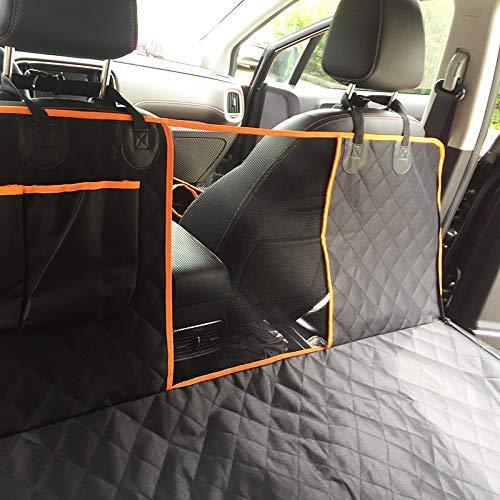 Unbekannt Auto-Haustier-Pad, Hund Autorücksitz, Schmutz Beweis Auto-Pad, Surround, mit mittleren Netto-Kissen, Auto Hundekissen