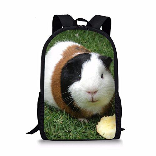 Nakgn Fashion Guinea Pig Backpack Book Bag for Kids
