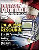 Fantasy Football Handbook 2004 de David Dorey