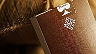 Rounders Playing Cards Deck by Daniel Madison and Ellusionist [Brown Backs]