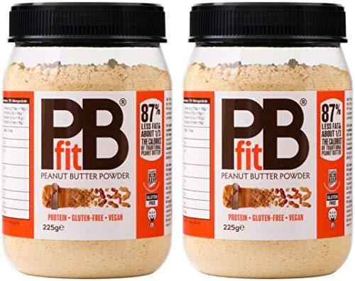 PBfit BetterBody Peanut Butter Powder, 225 g (Pack of 2)