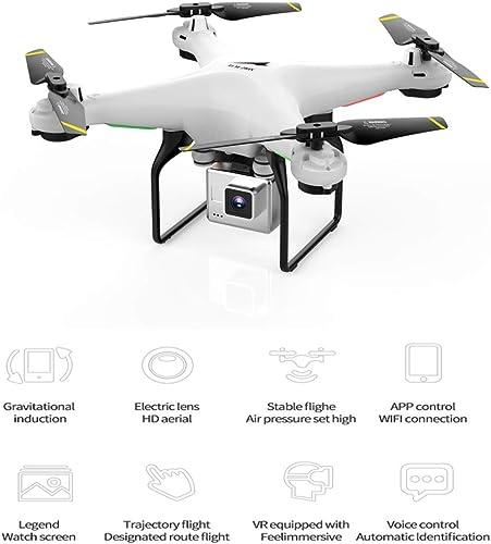 BQT Drone mit Kamera, 1080P Weißwinkellens HD Camera WiFi FPV Quadcopter UAV Remote Control Plane Live Helicopter Hover 360 Grad Flip, Flugzeug Spielzeug