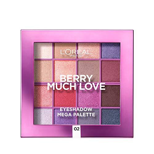 L'Oréal Paris Méga oogschaduw-palet, Berry Much Love, 17 g