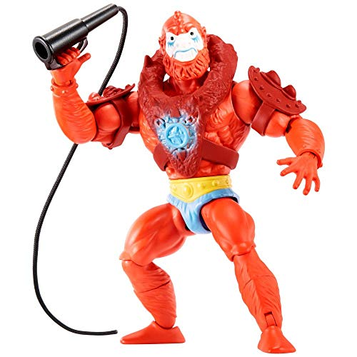 Masters of the Universe GNN92 - Origins Actionfigur (14 cm) Beast Man, Actionfigur zum Spielen und Sammeln ab 6 Jahren