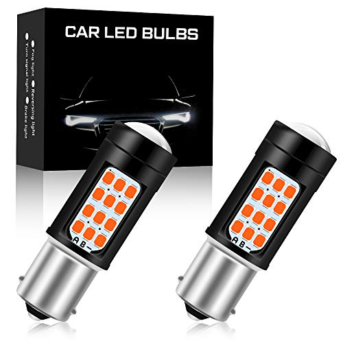 2 pz Rojas 1156 BA15S P21W Bombilla LED Super Brillante 2835 42SMD luz de Freno de Automóvil Luz de Niebla Trasera Posición Luz de Cola Luz de Conducción 6000K