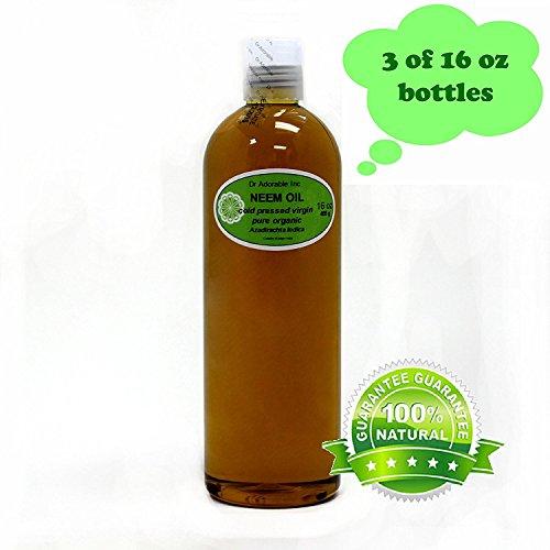 Neem Oil Organic Pure Pure 48 Oz / 3 Pints