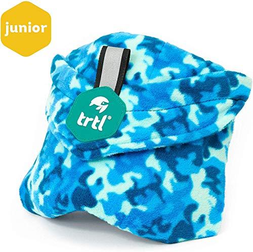 Top 10 Best Travel Pillows for Kids in 2020 - Trtl Pillow Junior Kids Travel Pillow