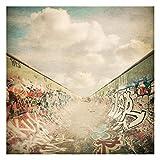 Fototapete selbsthaftend - Graffiti-Skatepark - Wandbild Quadrat 240 x 240 cm