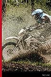 Taccuino Passione Sport: Moto Cross 120 pagine | Regalo per adulti, uomini, donne, adolescenti e bambini per Natale o compleanno