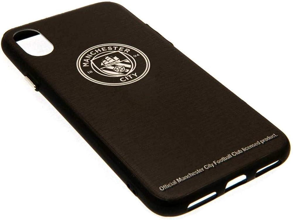 Amazon.com: Manchester City FC IPhone X Aluminum Case (One Size ...