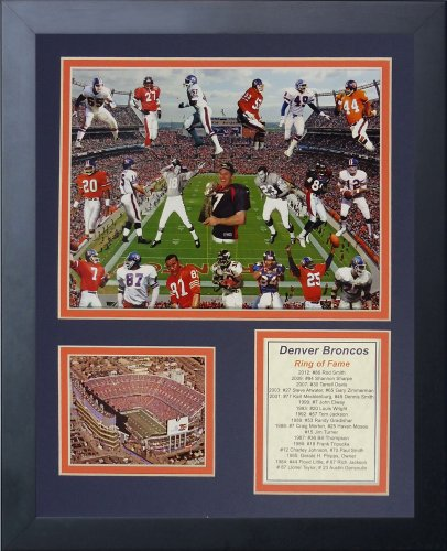 John Elway Denver Broncos NFL Framed 8x10 Photograph Legends Collage