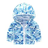 Unisex Kids UV/Sun Protection Hoodie Baby Sunscreen Jacket Kids Quick Dry Chaqueta...